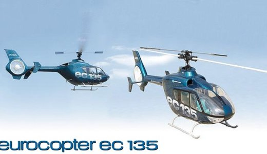 70-90 Scale eurocopter ec135 [0404-991]